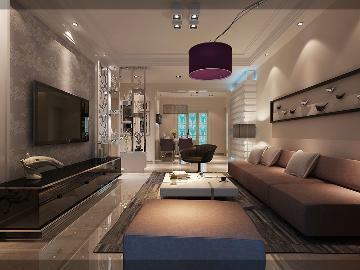 丽东国际公寓简欧风格装修