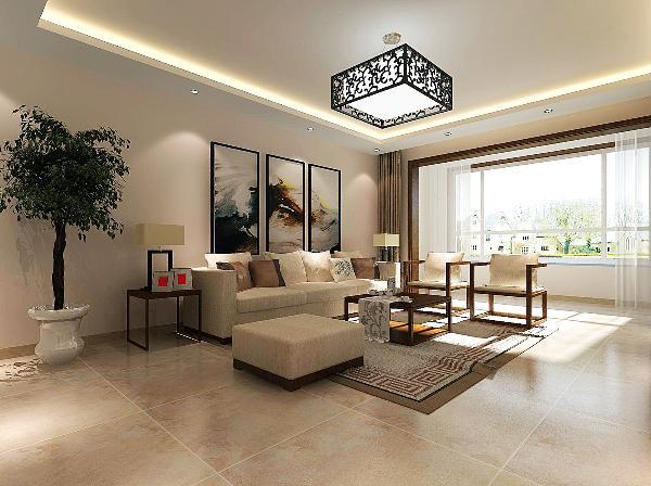 客厅灰砖与艺术涂料的结合,让空间意蕴深厚却能深入浅出,令人眼前一亮。