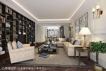 132平与优雅相遇的美式古典宅