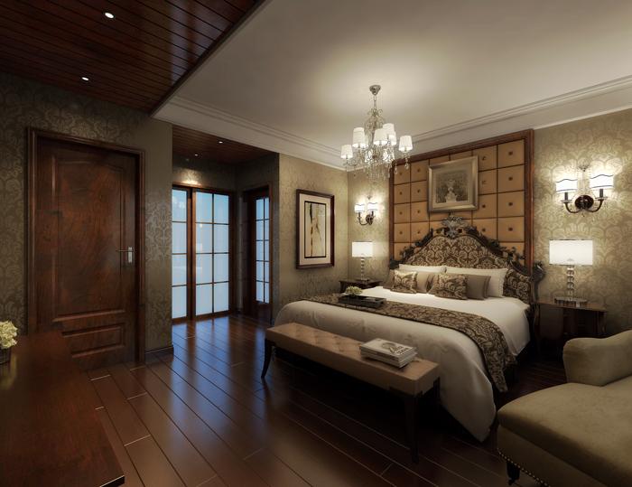 美式 卧室图片来自玉玲珑装饰在方先生的美式风格新家的分享