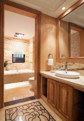 田园 地中海 平墅 收纳 卫生间图片来自张勇高级室内设计师在西山意境地中海风格效果案例效果的分享