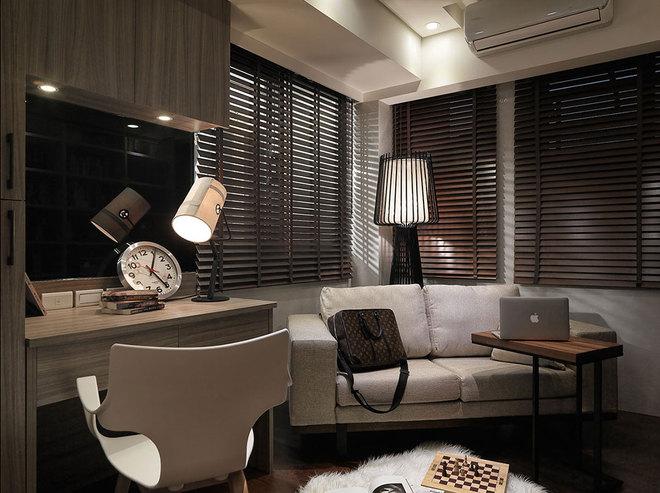 简约 混搭 白领 客厅图片来自业之峰装饰旗舰店在99平北欧简约新三居的分享