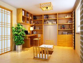 欧式 混搭 中式 简约 雅致 舒适 书房图片来自居然元洲装饰小杨在科兴佳园欧式装修案例150平的分享