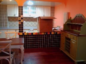 欧式 混搭 中式 简约 雅致 舒适 厨房图片来自居然元洲装饰小杨在科兴佳园欧式装修案例150平的分享