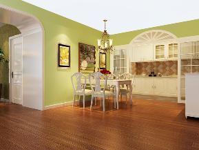 欧式 混搭 中式 简约 雅致 舒适 餐厅图片来自居然元洲装饰小杨在科兴佳园欧式装修案例150平的分享