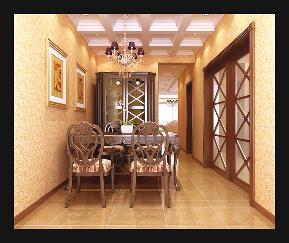 简约 欧式 别墅 舒适 安静 档次 餐厅图片来自居然元洲装饰小杨在翡翠城欧式风格200平的分享