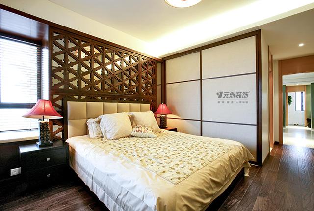 三居 南亚风情 东南亚风格 卧室图片来自居然元洲装饰小杨在南亚风情园-130平米东南亚风格的分享