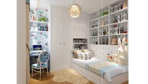 欧式 二居 暖色 温馨 舒适 潮白河孔雀 书房图片来自业之峰装饰旗舰店在浓情满屋的分享