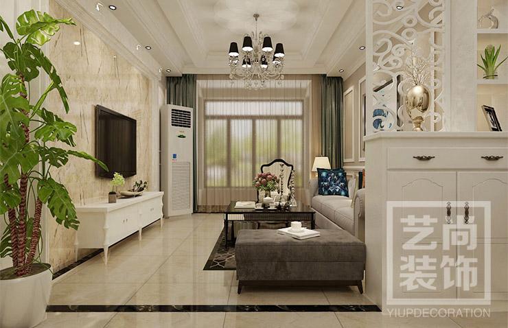 新浦花园 三居 欧式 客厅图片来自艺尚设计在新浦花园-欧式风格的分享