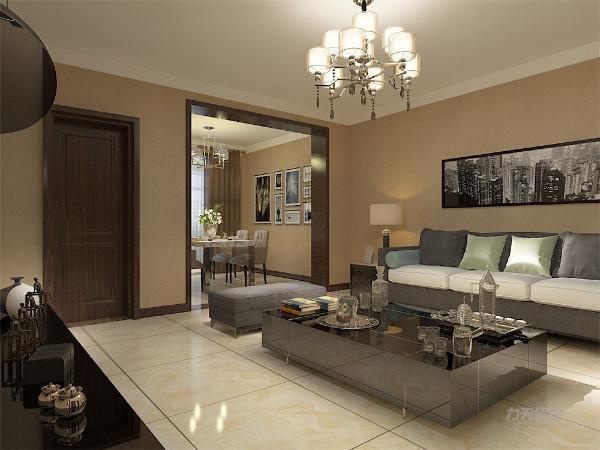整体风格以现代简约为主。因为业主比较喜欢宽敞的空间,所以主卧室没有摆放大衣柜,而是摆放了两个五斗柜,而大衣柜则设置在了阳台两侧。