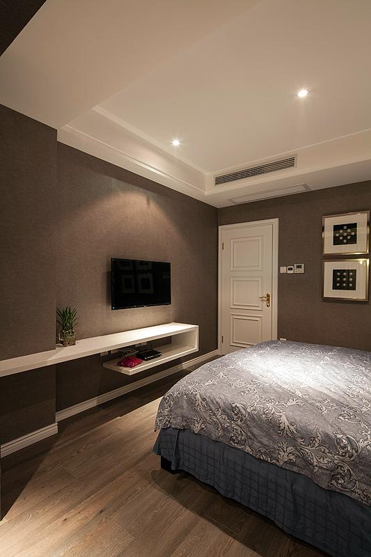 三居 白领 80后 卧室图片来自上海倾雅装饰有限公司在独角戏的分享