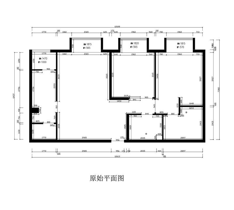 三居 现代 北京装修 润泽公馆 户型图图片来自业之峰装饰旗舰店在潮人畅想家的分享