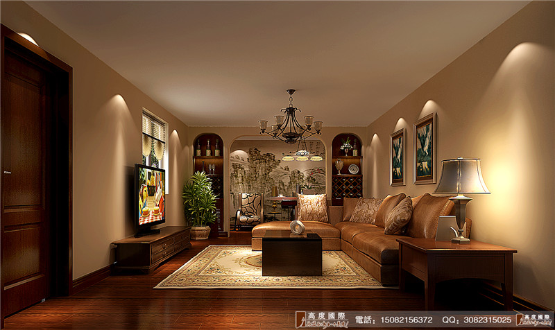 高度国际 新中式风格 别墅装修 成都装修 好的装修 其他图片来自成都高端别墅装修瑞瑞在新中式风格-----高度国际装饰的分享