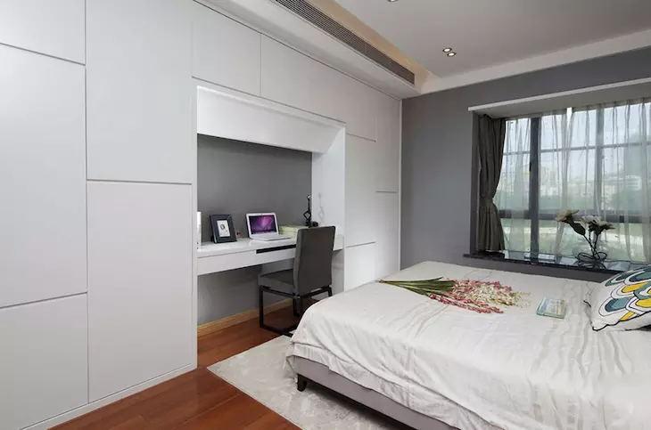 三居 收纳 白领 卧室图片来自广州泥巴公社装饰在北欧风.华景里的分享