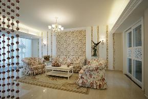 田园 简约 温馨 客厅图片来自九鼎建筑装饰工程有限公司成都分在126平白色基调浪漫田园风的分享
