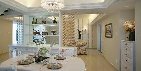 田园 简约 温馨 餐厅图片来自九鼎建筑装饰工程有限公司成都分在126平白色基调浪漫田园风的分享