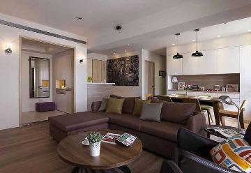 88平米北欧风格三居室装修