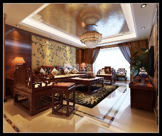 紫晶悦城206㎡中式装修案例