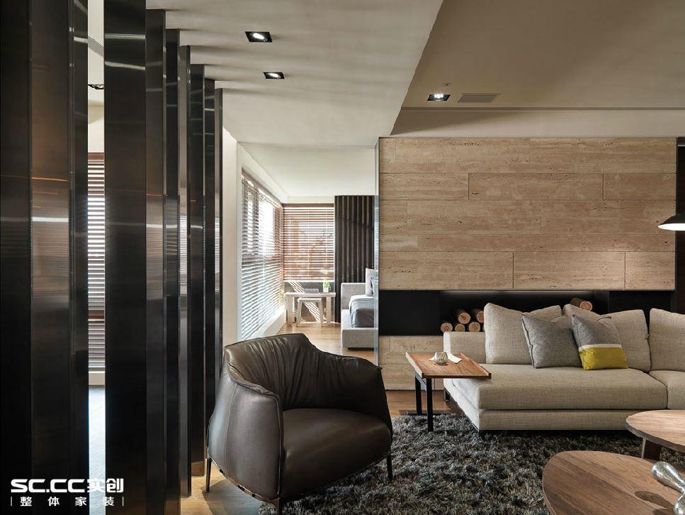 二居 小资 客厅图片来自哈尔滨实创装饰阿娇在翠湖天地110平两居室户型港式的分享