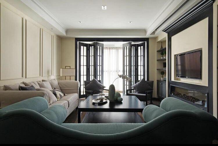 三居 简约 现代 银海华庭 140平 嘉年华装饰 客厅图片来自嘉年华装饰-叶彪在文化的底蕴的分享