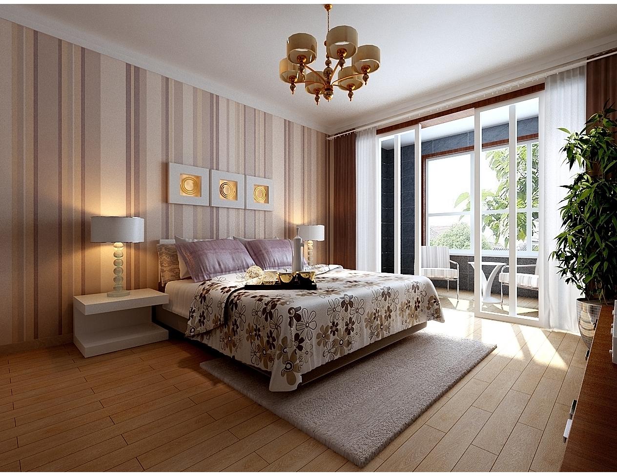 简约 二居 白领 80后 小资 收纳 卧室图片来自天津实创装饰赵在【实创】119平米-现代简约装修的分享