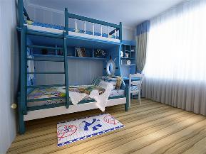 三居 80后 地中海 儿童房图片来自沈阳林凤装饰装修公司在中海寰宇天下-地中海-三居的分享