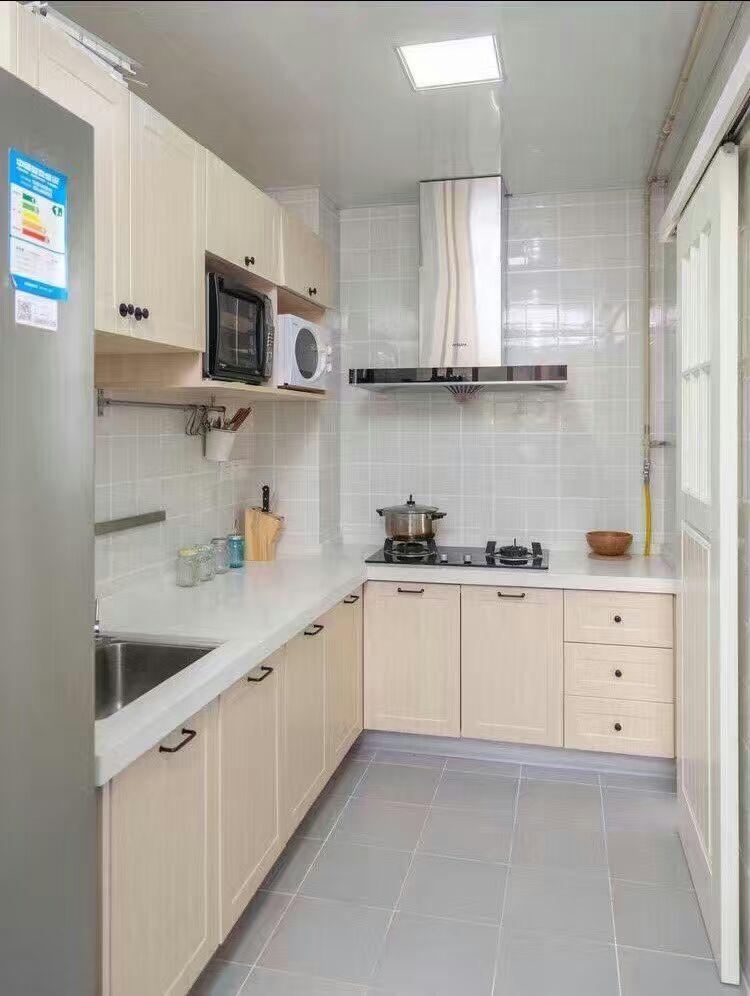 三居 旧房改造 小资 厨房图片来自广州泥巴公社装饰在北欧风.祈福新村的分享