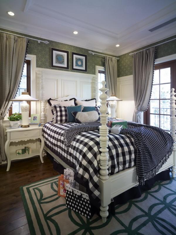 混搭风 古典情怀 品质感 卧室图片来自九鼎建筑装饰工程有限公司成都分在224平的古典混搭风的分享