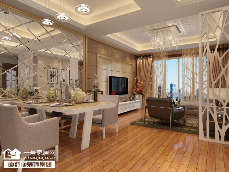 现代简约 二居 白领 收纳 80后 小资 餐厅图片来自武汉一号家居在常青第五小区98现代简约装修案例的分享