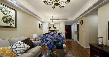 89平米两室两厅美式风格装修