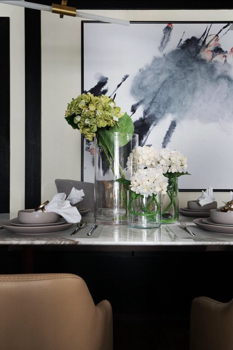 三居 简约 现代 银海华庭 140平 嘉年华装饰 餐厅图片来自嘉年华装饰-叶彪在文化的底蕴的分享