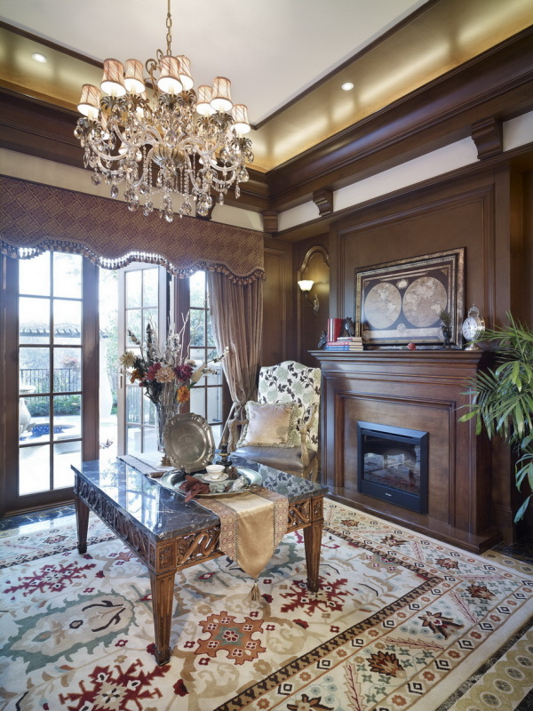 混搭风 古典情怀 品质感 客厅图片来自九鼎建筑装饰工程有限公司成都分在224平的古典混搭风的分享