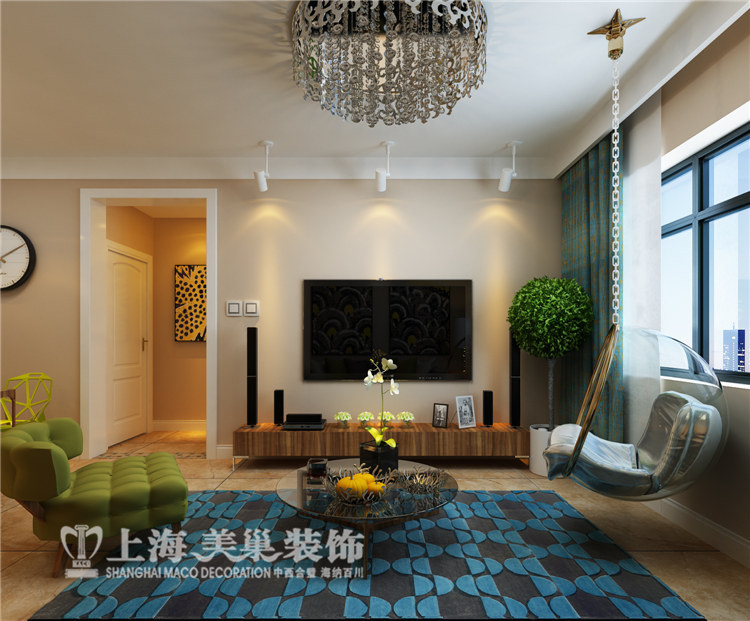 二居 简约 小资 客厅图片来自河南美巢装饰在普罗旺世 89平 两室现代简约装修的分享