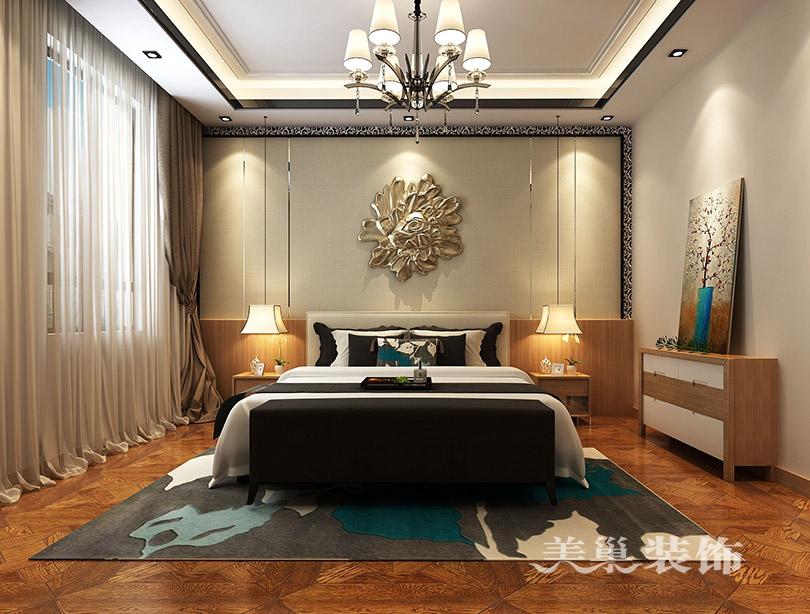别墅 新古典装修 小资 卧室图片来自美巢装饰--李凌晨在英伦庄园400平方别墅新古典装修的分享