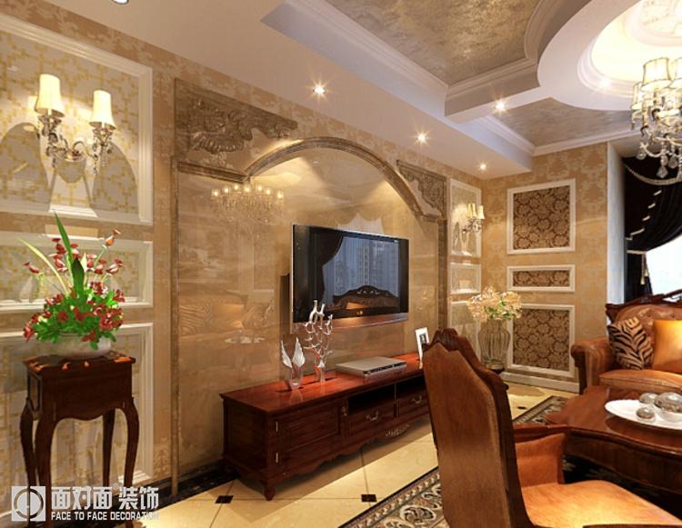 古典欧式 三居 白领 收纳 80后 小资 客厅图片来自武汉一号家居在常青二分之一城127平古典欧式的分享