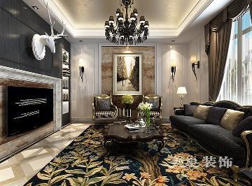 英伦庄园400平方别墅新古典装修