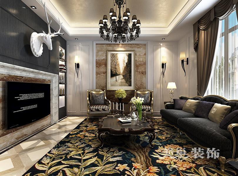 别墅 新古典装修 小资 客厅图片来自美巢装饰--李凌晨在英伦庄园400平方别墅新古典装修的分享