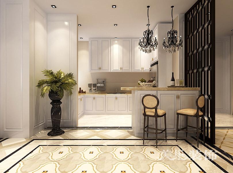 别墅 新古典装修 小资 厨房图片来自美巢装饰--李凌晨在英伦庄园400平方别墅新古典装修的分享