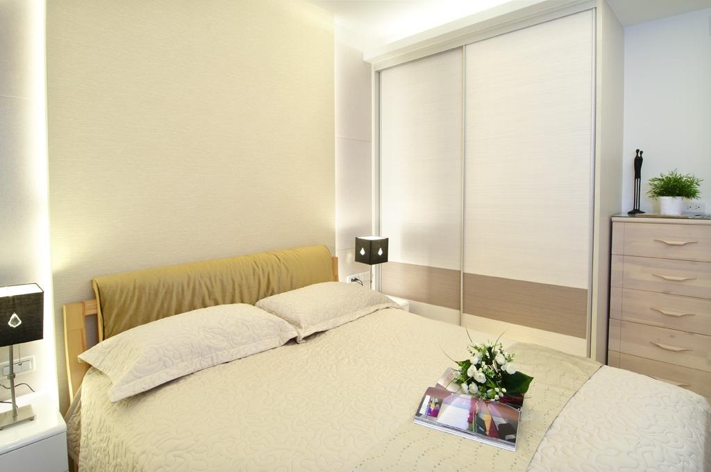 卧室图片来自悦装网-王凯旋在爱完美三居简约109的分享