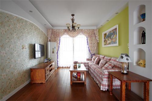 田园 套房 三居 白领 小资 客厅图片来自爱奥尼典石装饰在华润幸福里-田园风格别致套房的分享