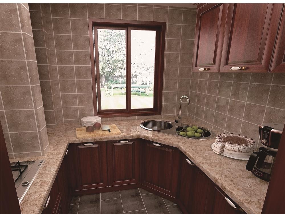 简约 田园 欧式 三居 80后 小资 厨房图片来自沈阳林凤装饰装修公司在中海寰宇天赋-简美-三居的分享