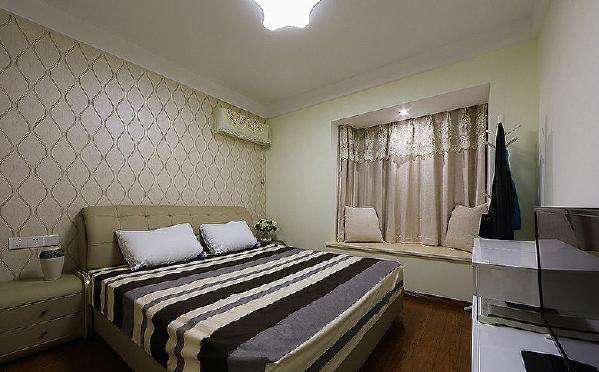 温馨舒适的卧室装修图片 喜欢收藏看大图 7/8 温馨舒适的卧室