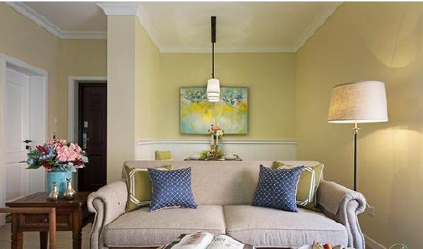 成都100平米三居室装修简约风温馨之家