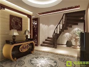 小资 二居 中式 生活家家居 新中式 中国风 新古典 楼梯图片来自天津生活家健康整体家装在融科瀚棠99的分享