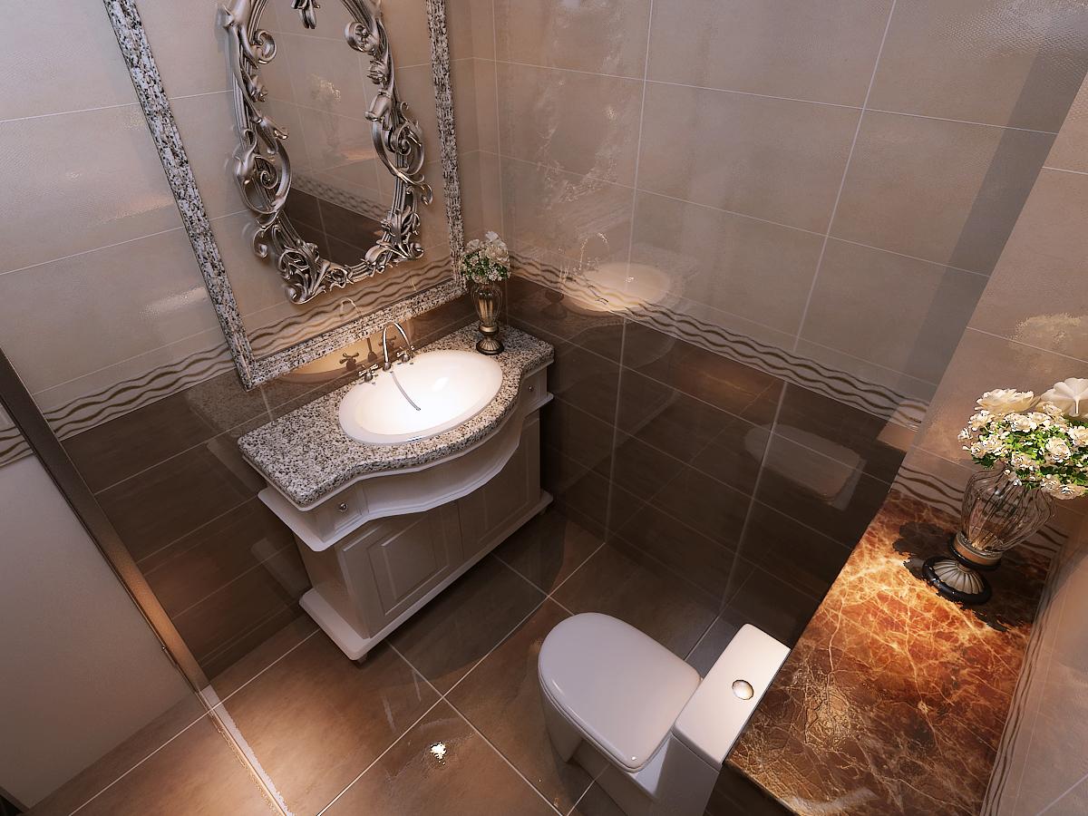 卫生间图片来自石家庄装饰家美1在【案例赏析】四季上东的分享