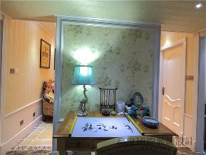 新古典 二居 收纳 80后 小资 K2海棠湾 书房图片来自沙漠雪雨在112平米低调奢华贵族式生活的分享