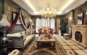 三百平美式风格别墅