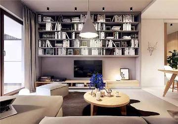 北欧装修风格纯净色调利落空间