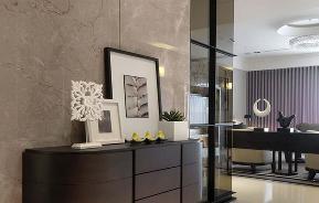 港式 三居 玄关图片来自重庆天地和豪装工厂店在港式风格三居室案例的分享