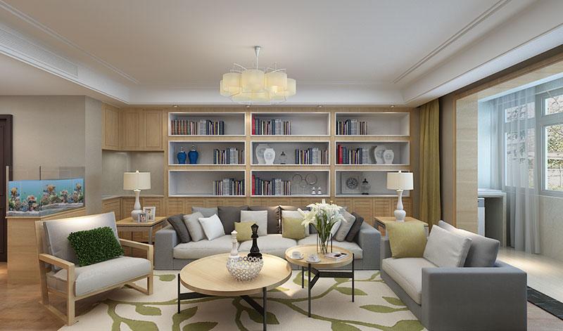 毛坯房装修 100平装修 90装修报价 华城绿洲 客厅图片来自小户型装修案例在华城绿洲的分享